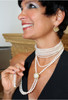 Sunflower pearl enhancer-Sterling & diamonds-plate options