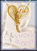 Hearts-Lucky Break Necklace-Large-Sterling diamonds and 18K or rhodium plate
