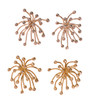 Superstar earrings gold and diamonds