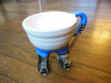 Ceramic People Mugs: Hockey Player by Naomi Knecht