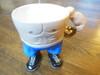 Boxer Mug- Ceramic People pots- Naomi Knecht