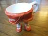 Rockette Mug- Ceramic People Pots- Radio City Music Hall - Pure NY by Naomi Knecht