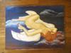 X-Angel.  Despair. Oil on Canvas