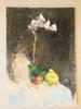 Tamara S Gordon. Still Life.  Oil on Canvass Board. #10