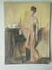 Tamara S Gordon. Nude.  Oil on canvas board #14