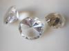 Diamond Shaped Glass Paperweight