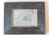 OMG #2 of 2.  Framed charcoal and pastel on paper by Jane A Gordon