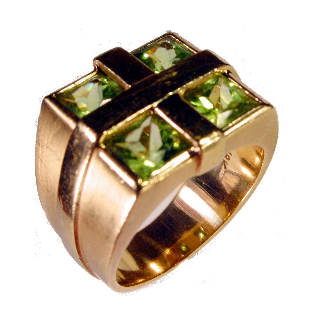 Gift Ring-18K (Made to order- Your choice of stone)