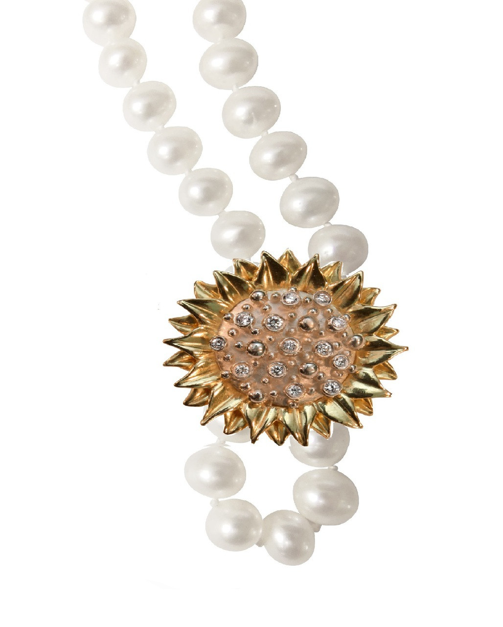 Sunflower pearl enhancer sterling diamonds plate options aloadofball Image collections