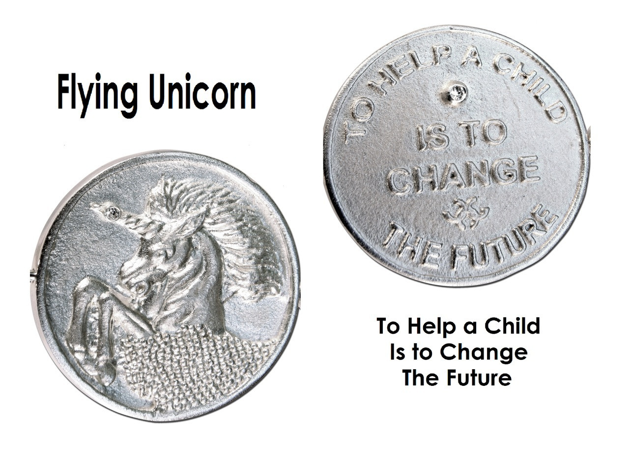 Decision Coin: Flying Unicorn / Helping Children