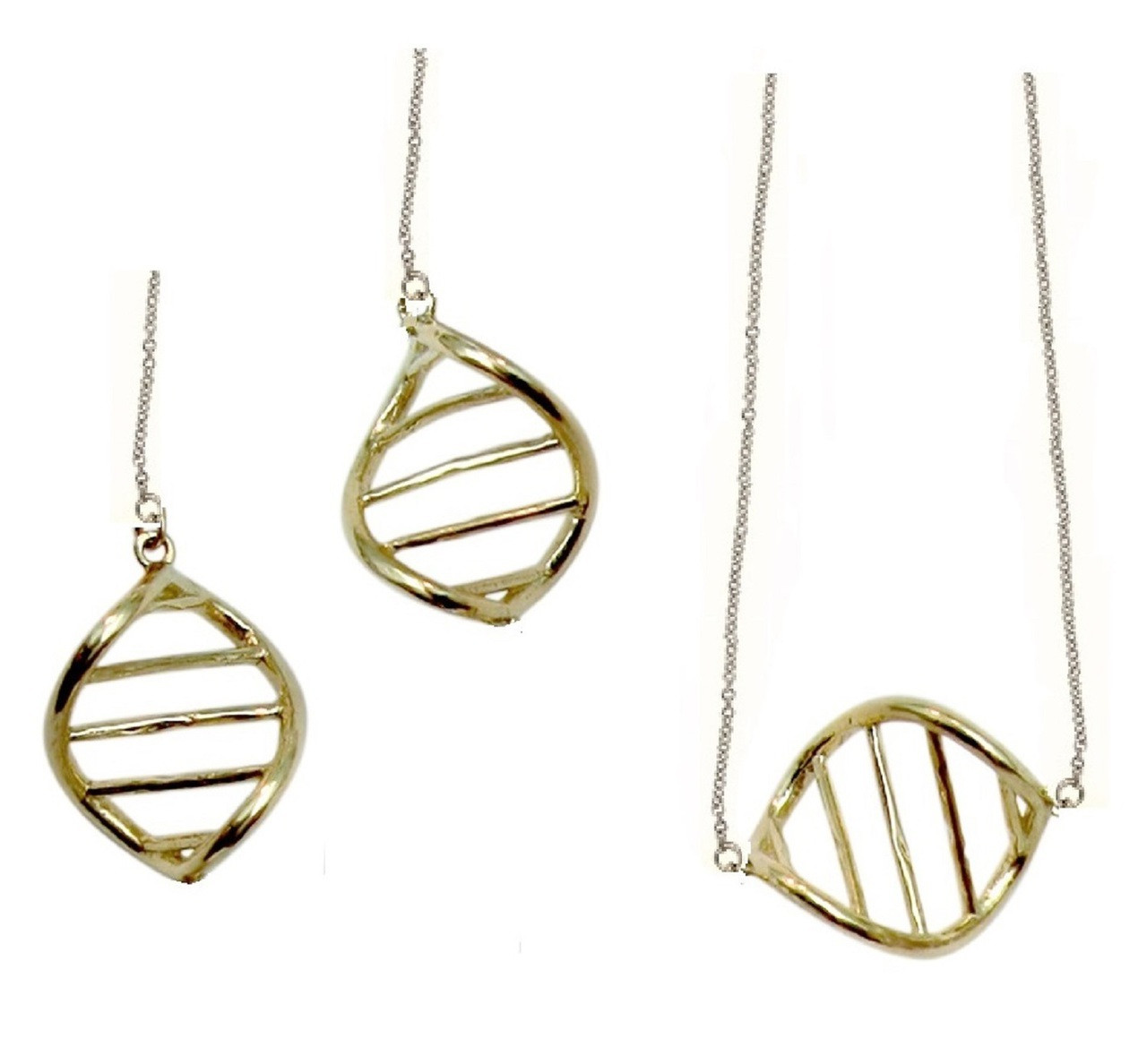 DNA Link on Chain- Necklace-14K