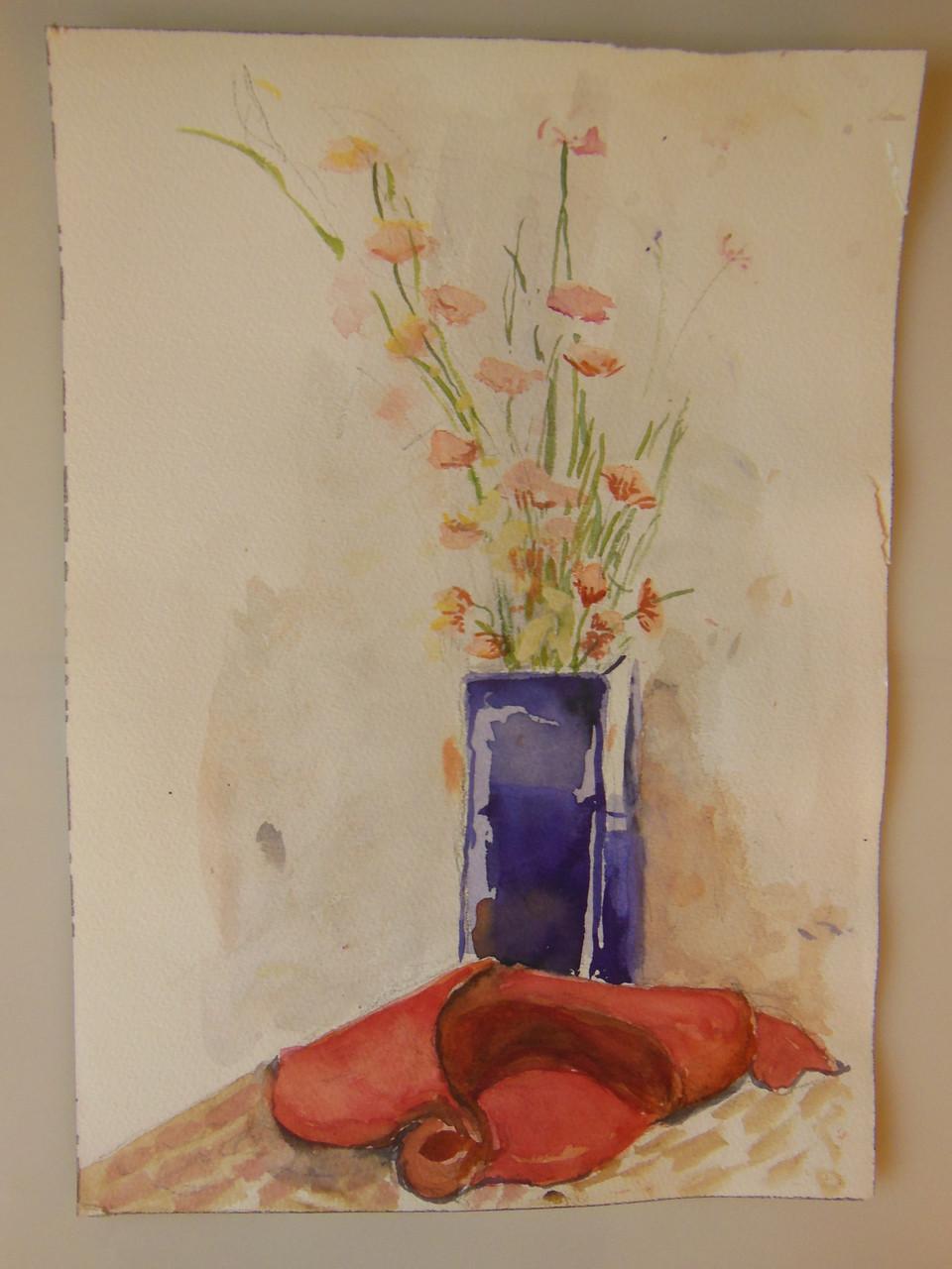 Tamara S Gordon. Still Life. Watercolor on paper-12