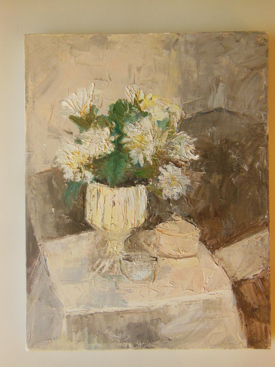 Tamara S Gordon. Still Life.  Oil on Canvas.  #1