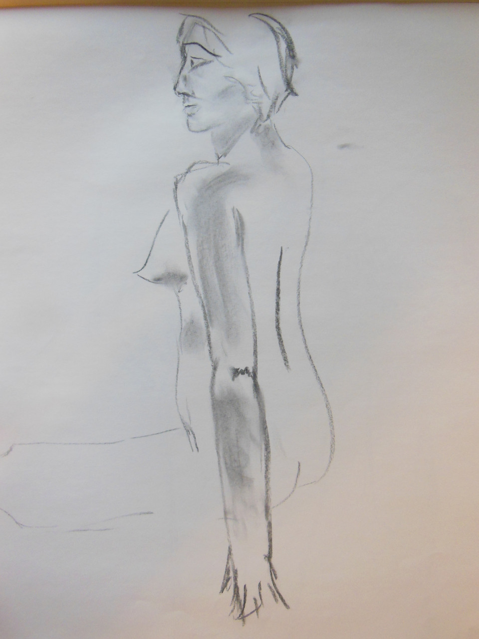 Unfinished Study. Pencil on paper # 6