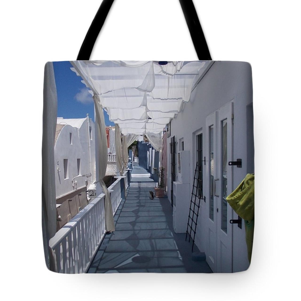 Santorini Tote bag- purchase here.