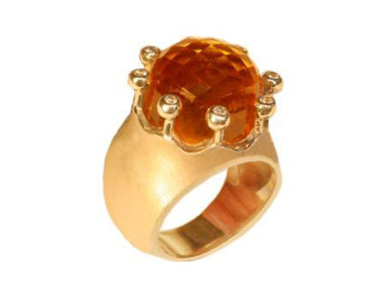 The Imperial Crown Ring-18K