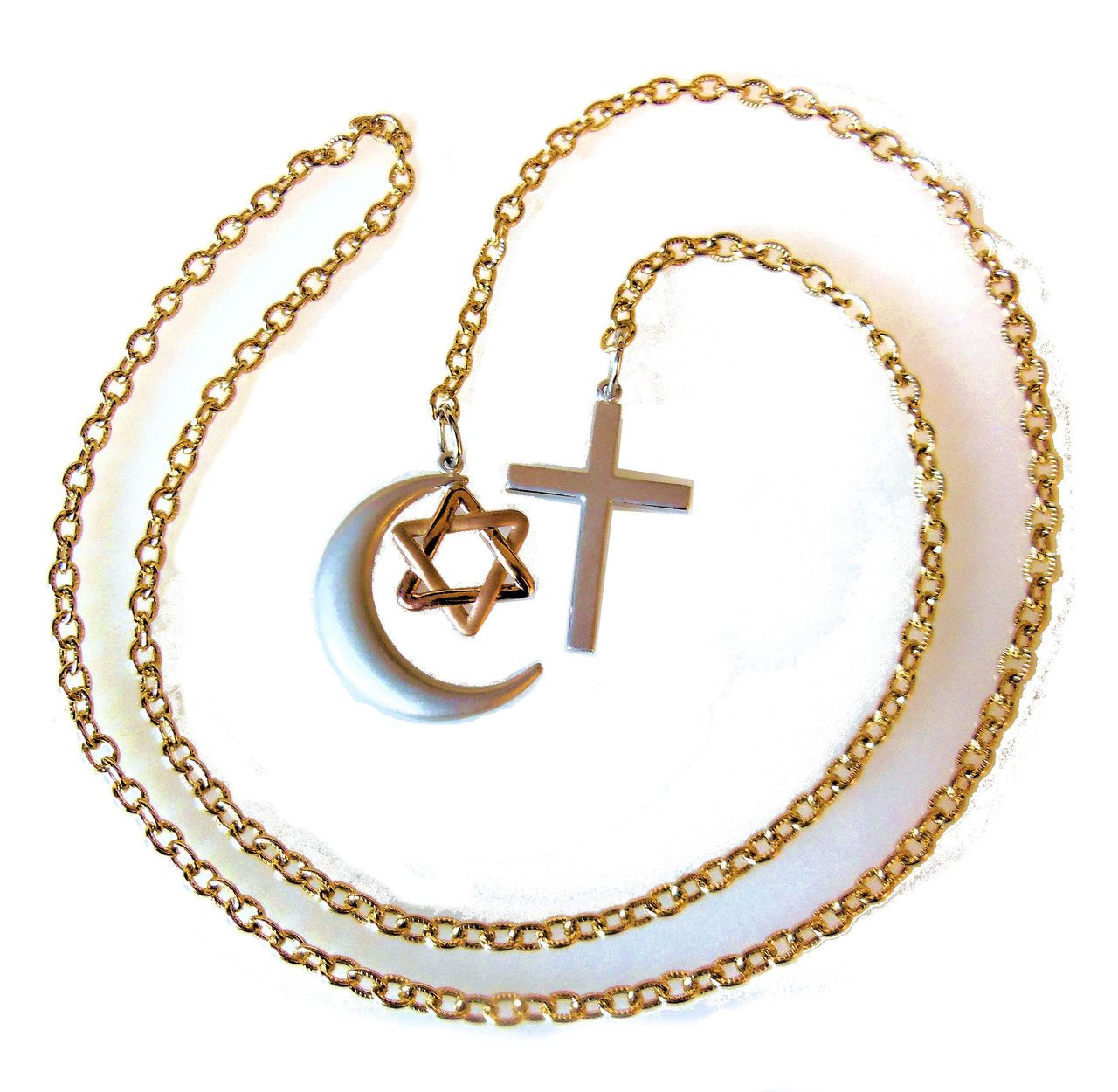 Religion- Monotheistic All Mixed Up Together- 14K