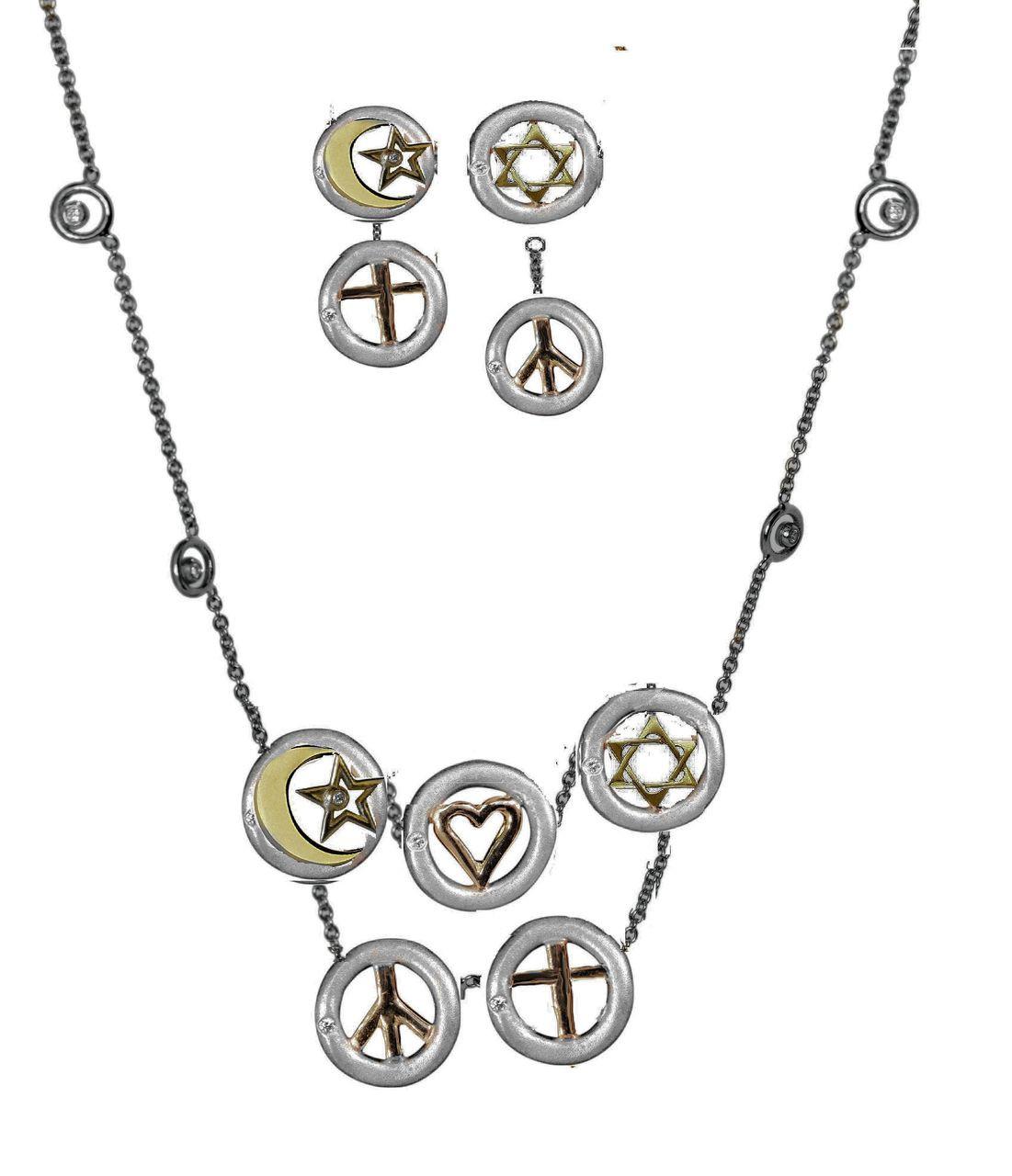 StarsChain Of Stars NecklaceK - Monotheistic religions