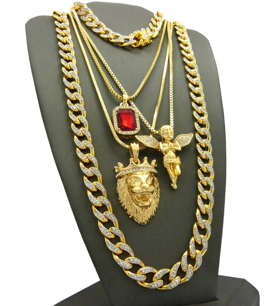 God Of Salvation Cuban Link Chain Bracelet Ultra Baller Hip Hop Chain