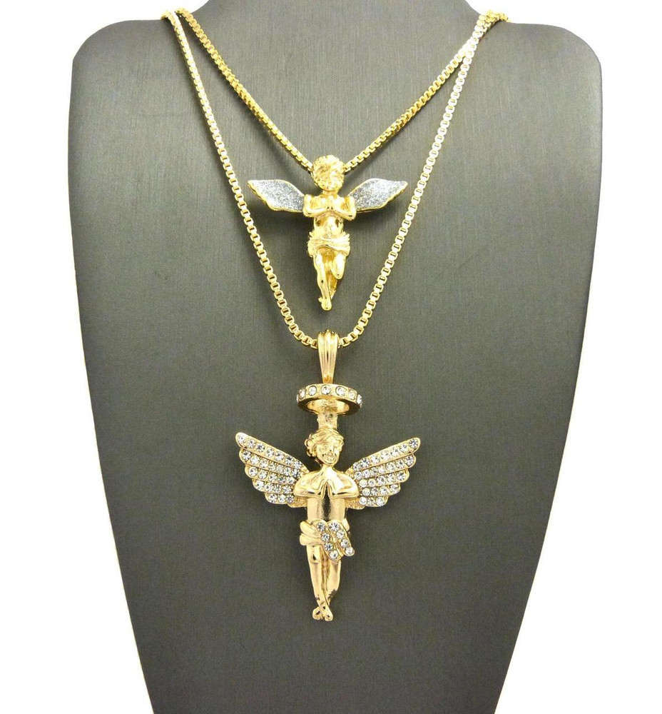 An Angel Pendant Adds A Spiritual Touch To Any Outfit