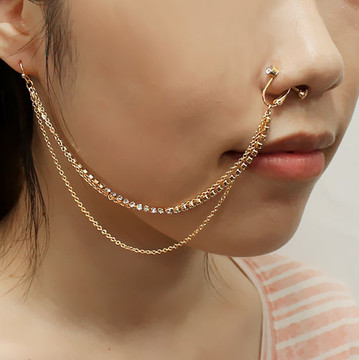 Nose Earring Chain
