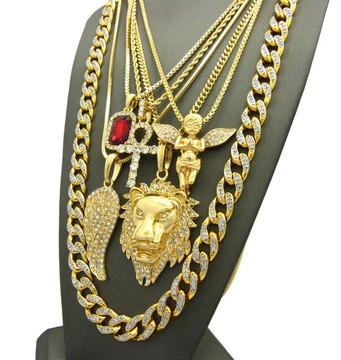 God of Wrath Egyptian Ankh Cross Ultra Baller Hip Hop Chains