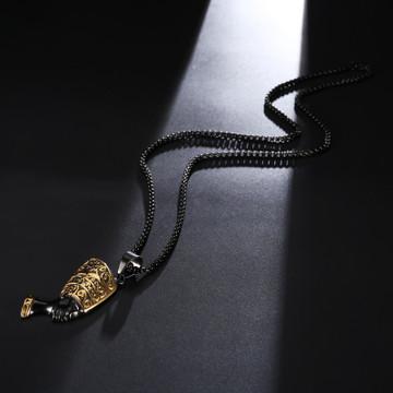African Queen Nefertiti Pendant Black