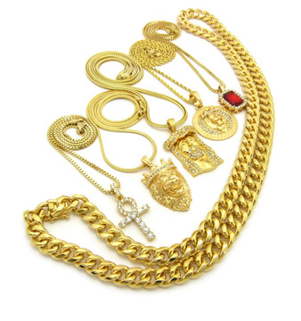 End Times Ancient Jesus Hip Hop Ultra Baller Chain Collection