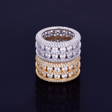 Bling AAA Stone Iced Out Ring