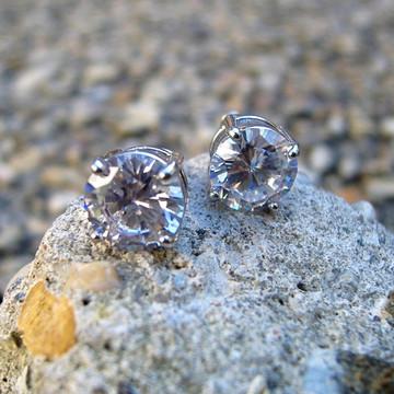 Diamond Cz Iced Out Earrings