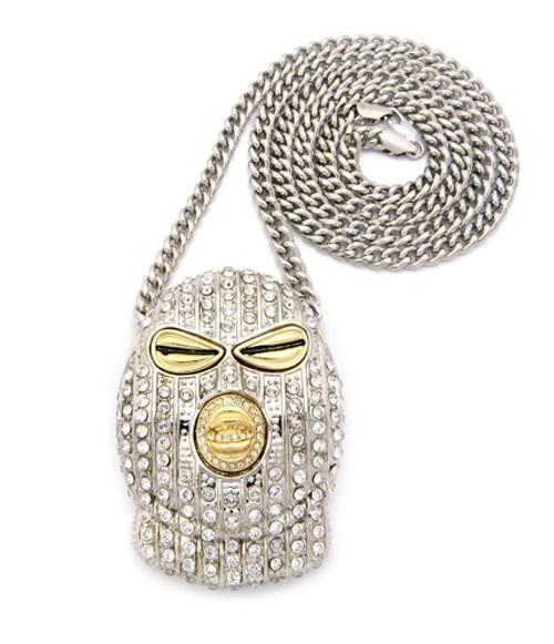 Plies goon inspired hip hop chain pendant silver bling jewelz plies goon inspired hip hop chain pendant silver aloadofball Images
