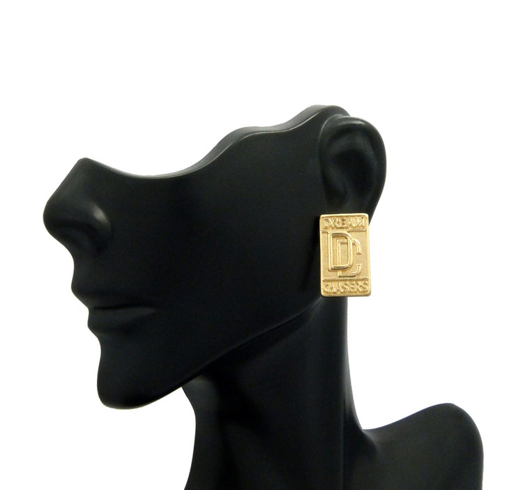 Dream Chasers Hip Hop Earrings Gold