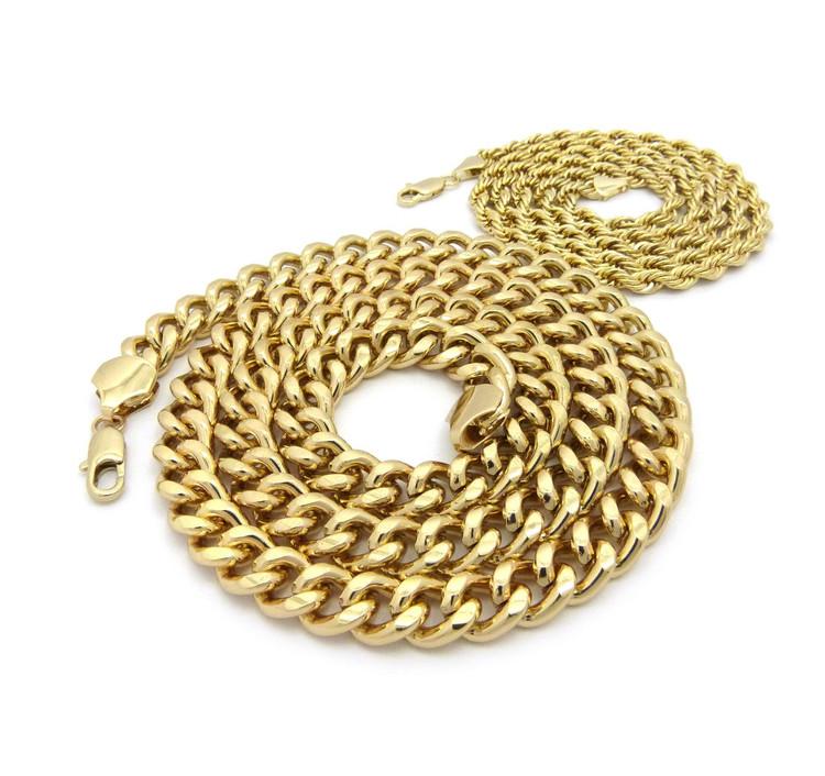 14k Gold Hip Hop Chain