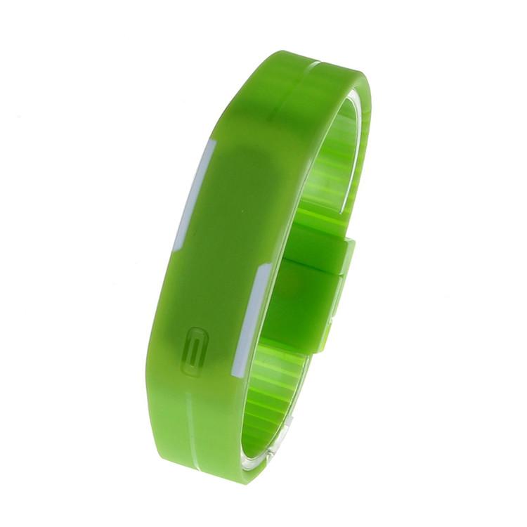 Thin Girl Sports Silicone Digital LED Sports Bracelet Watch