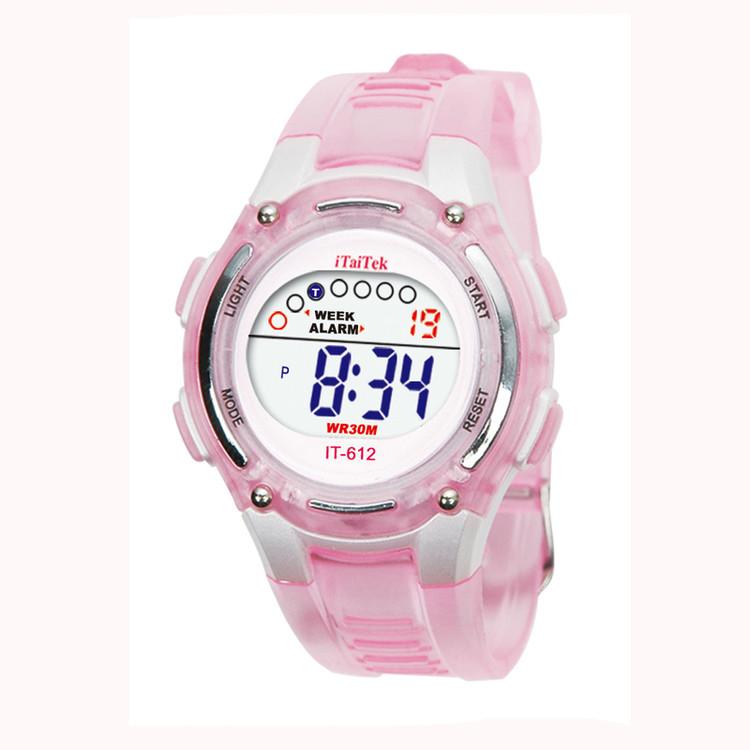 Ladies Swimming Sports Digital Waterproof Wrist Watch
