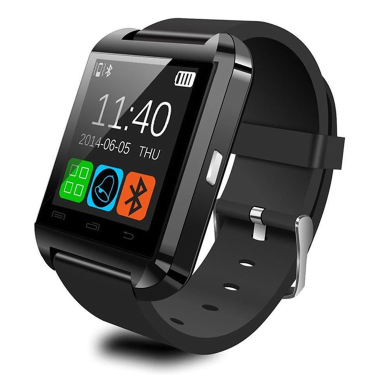 Bluetooth Smart Silicone Gel Band Wrist Watch for Samsung