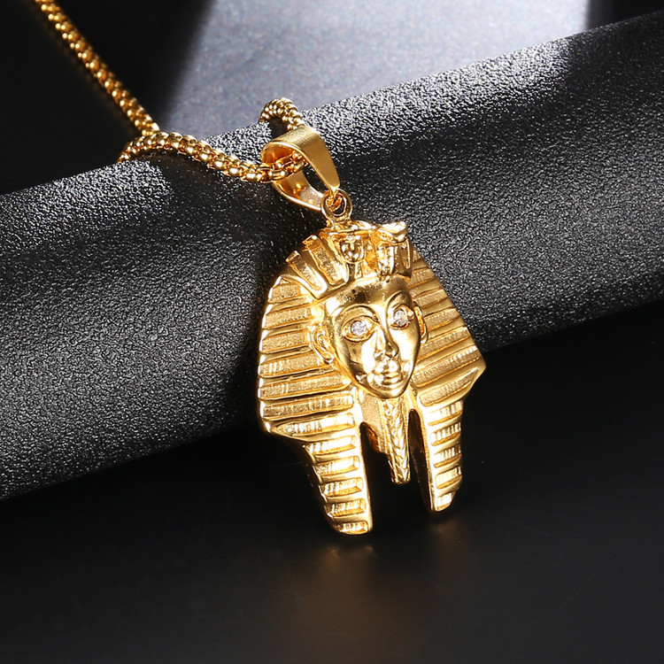 Lab Diamond King Tut Egyptian Chain