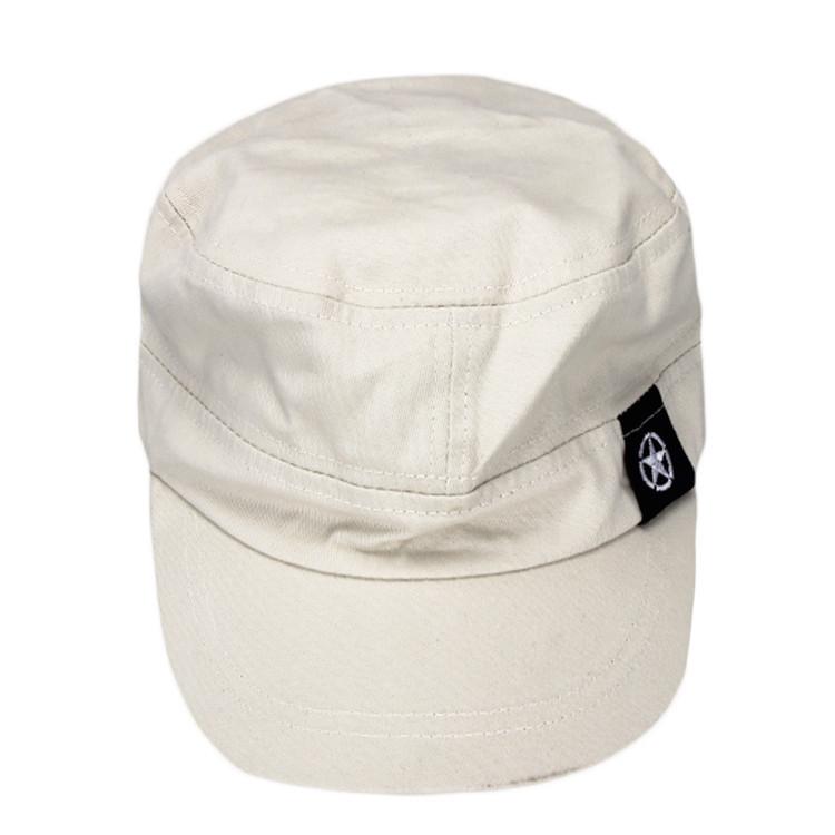 Fashion Unisex Flat Roof Cadet Style Hat Cap