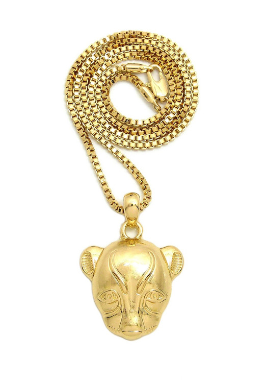 African Goddess Sekhmet Chain