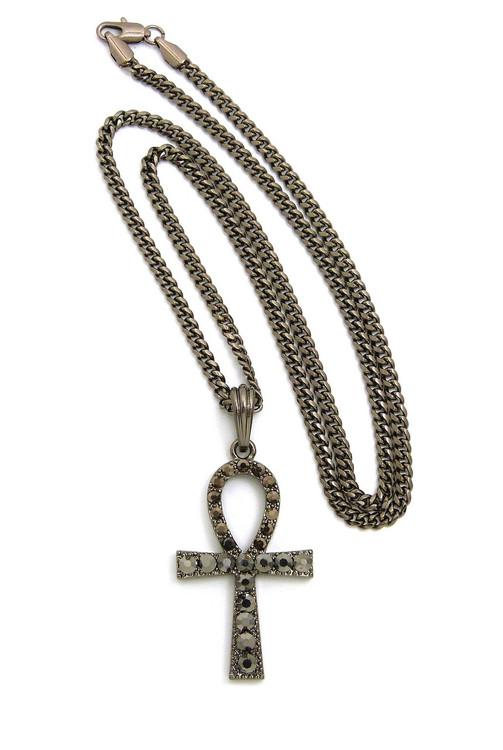 African Ankh Cross Chain Pendant