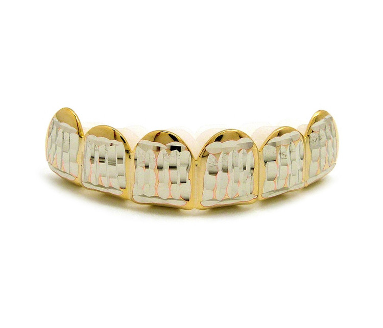 Diamond Cut Iced Out Grill
