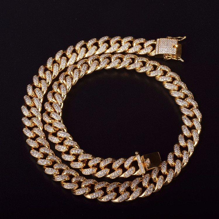 AAA Lab Diamond Cuban Link