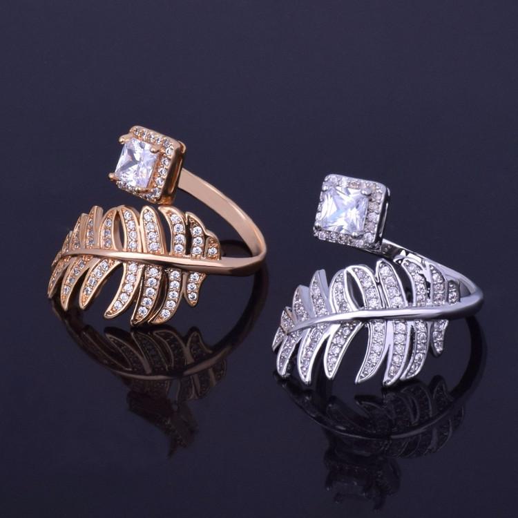 Luxury Leaf Ring