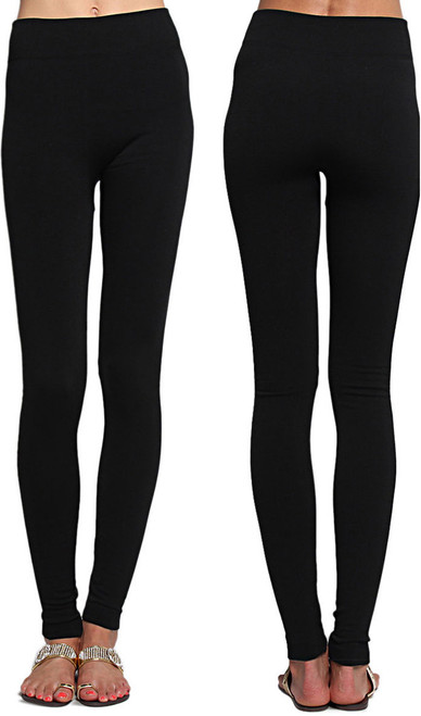 Fleece Lined Leggings High Waisted Stretch