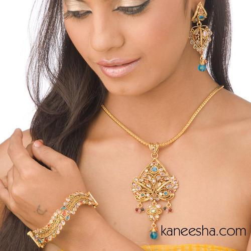 Multi Color Goldplated Bangle Bracelet-60% price reduction
