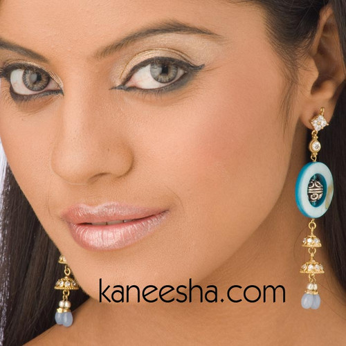 Stylish CZ Disc Earrings-60% price reduction