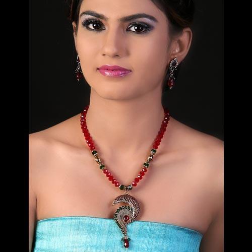 Royal Blue Necklace Set