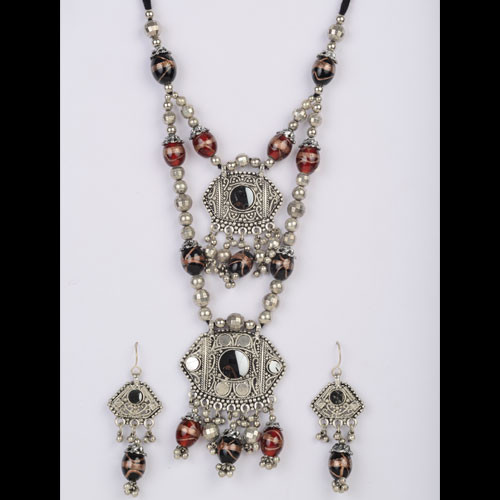 Black Stone Designer Necklace