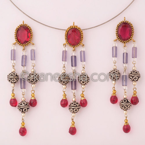 Miraculous Antiqued Brass Pendant Set