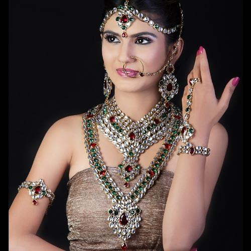 Charming Complete Wedding Jewellery